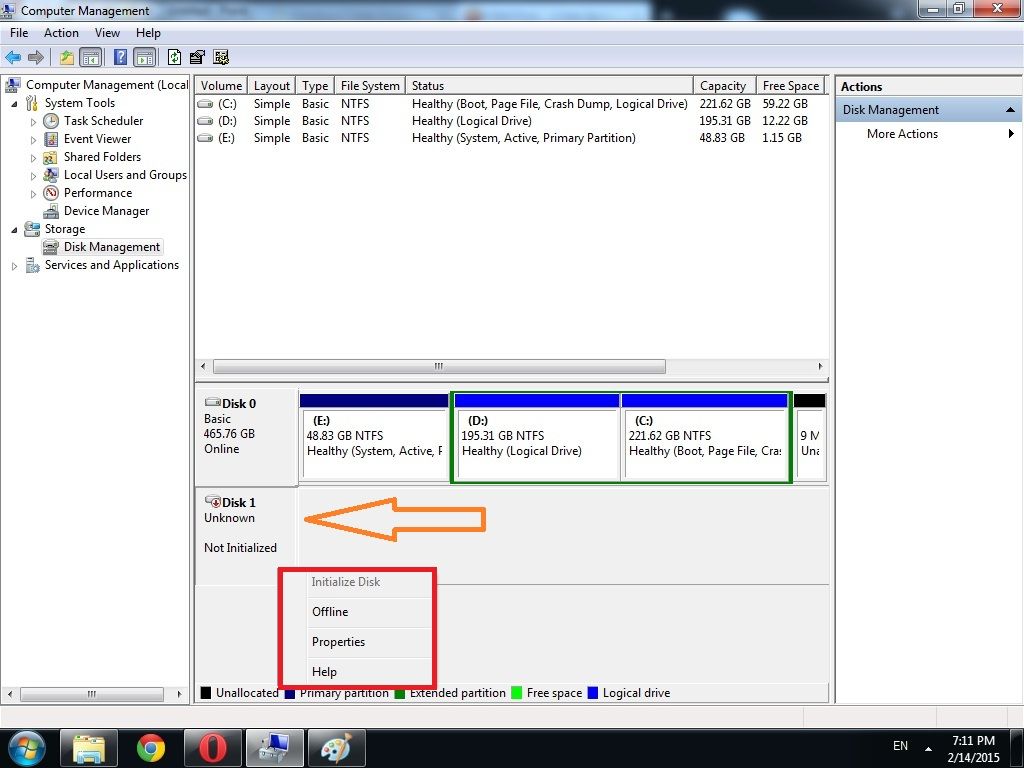 Hard-disk-not-detected-in-Disk-manegment