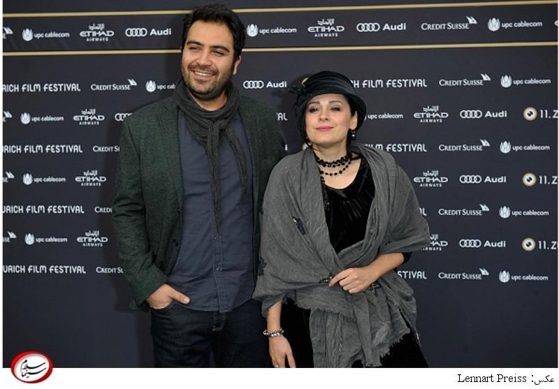 بهتاش صناعی ها و مریم مقدم - یازدهمین جشنواره فیلم زوریخ