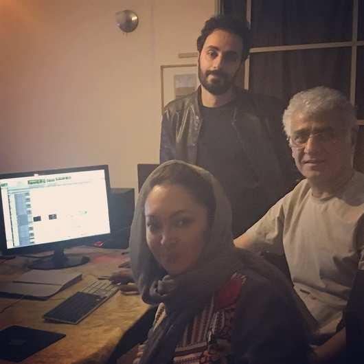 احسان بیگلری و نیکی کریمی - سدا (صدا) گذاری فیلم آذر