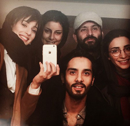 پشت صحنه فیلم جدید پل خواب - ساعد سهیلی ، آناهیتا افشار و ...