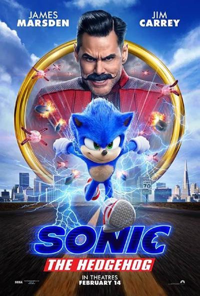 دانلود دوبله فارسی فیلم سونیک خارپشت Sonic the Hedgehog 2020 BluRay